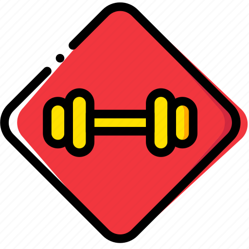 fit, fitness, gym, sign, work icon