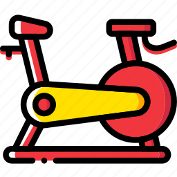 bicycle, fit, fitness, work icon