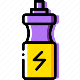 bottle, fit, fitness, water, work icon