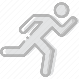 fitness, gym, running, training icon