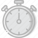fitness, gym, timer, training icon