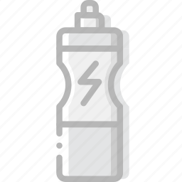 bottle, fitness, gym, training, water icon