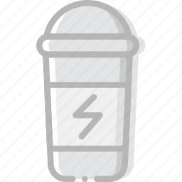 bottle, fitness, gym, protein, training icon