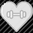 fitness, gym, love, training