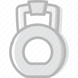 dumbbell, fitness, gym, training icon