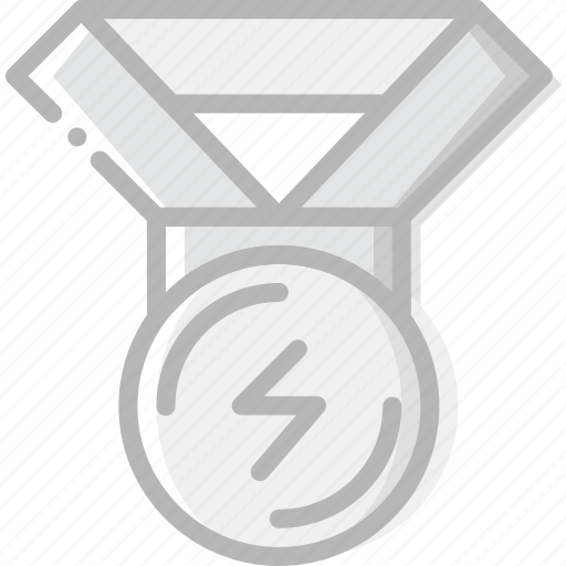 fitness, gym, medal, training icon