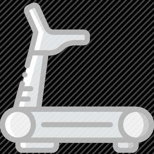 fitness, gym, training, treadmill icon