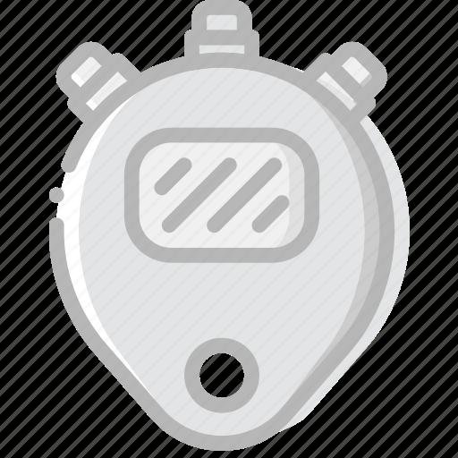 digital, fitness, gym, timer, training icon