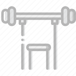 fitness, gym, training icon