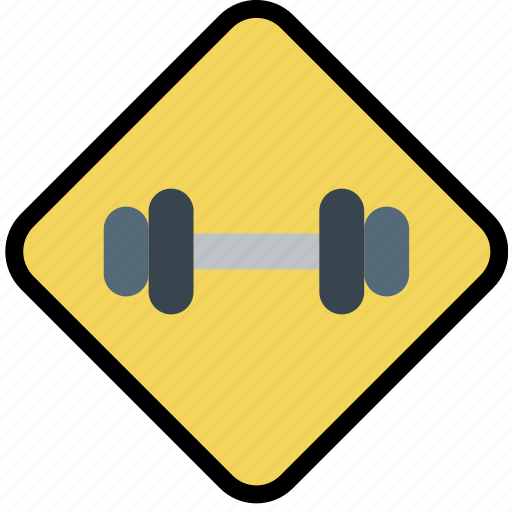 fitness, gym, sign, training, work icon