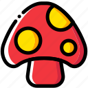 entertain, game, mario, mushroom, play icon