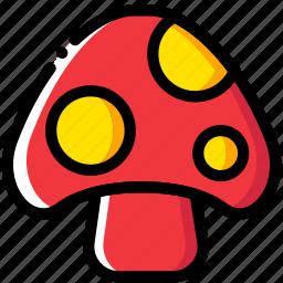 entertain, game, mario, mushroom, play icon