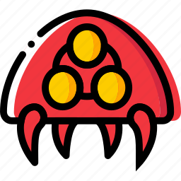 entertain, game, metroid, play, symbiote icon