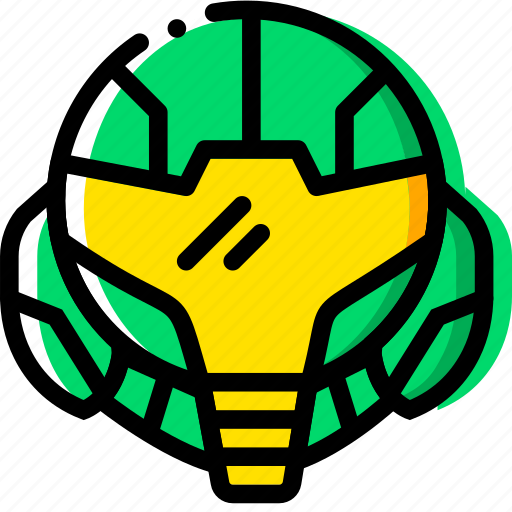 entertain, game, metroid, play icon
