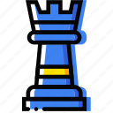 entertain, game, play, rook icon