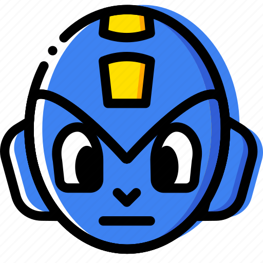 entertain, game, megaman, play icon