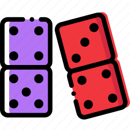 dominoes, entertain, game, play icon