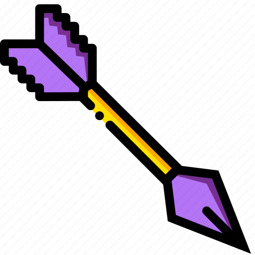 arrow, entertain, game, minecraft, play icon