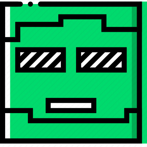 entertain, game, minecraft, play, zombie icon