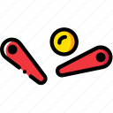 entertain, game, pinball, play icon