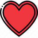 entertain, game, hearts, play icon