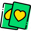 cards, entertain, game, play icon