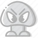 fun, game, goomba, play icon