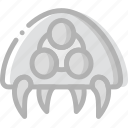 fun, game, metroid, play, symbiote icon