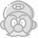 fun, game, mario, play icon