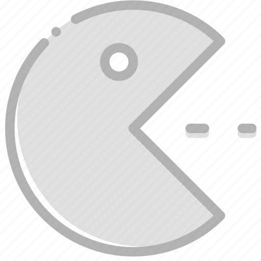 fun, game, pacman, play icon