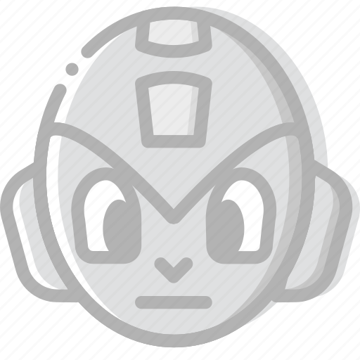 fun, game, megaman, play icon