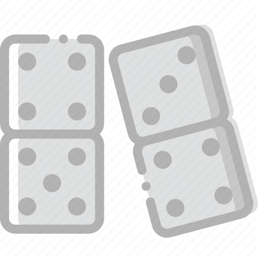 dominoes, fun, game, play icon