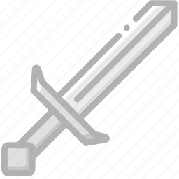 fun, game, minecraft, play, sword icon