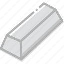fun, game, ingot, minecraft, play icon