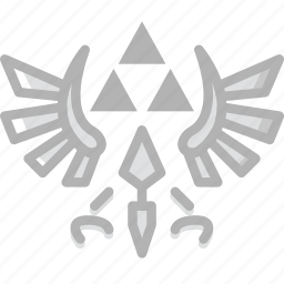 fun, game, play, the, triforce icon