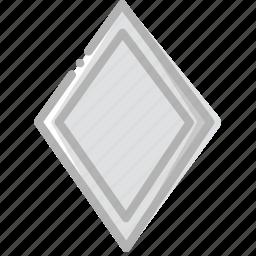 diamonds, fun, game, play icon