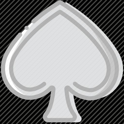 fun, game, play, spades icon