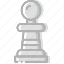 fun, game, pawn, play icon