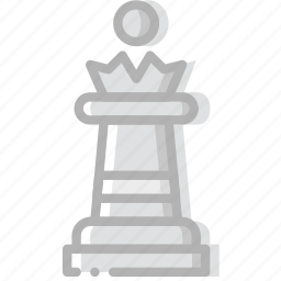 fun, game, play, queen icon