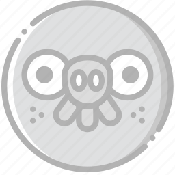 fun, game, pig, play icon
