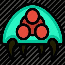 fun, games, metroid, play, symbiote icon