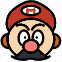 fun, games, mario, play icon