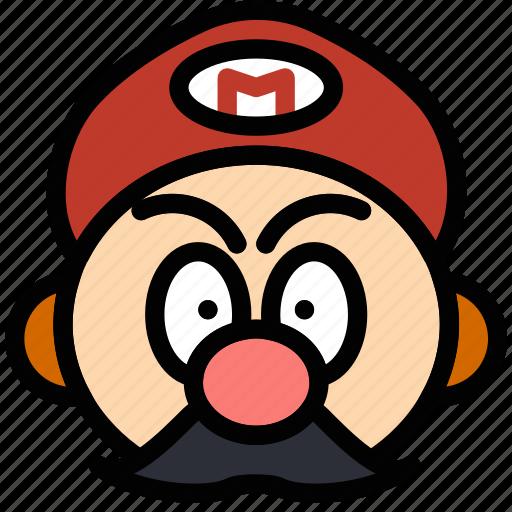 fun, games, mario, play icon