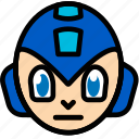 fun, games, megaman, play icon