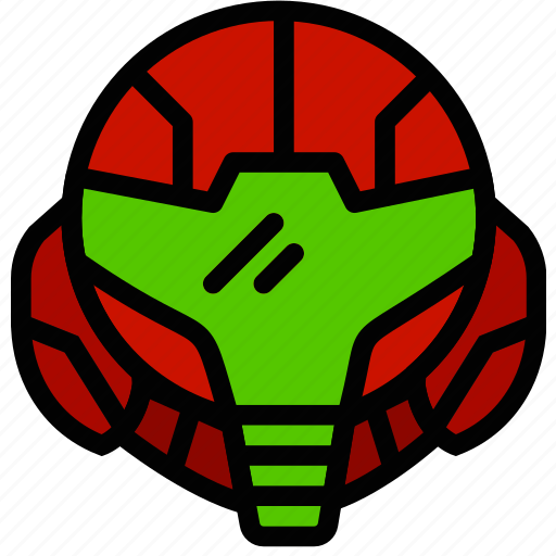 fun, games, metroid, play icon