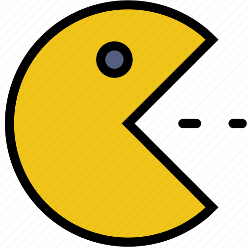 fun, games, pacman, play icon