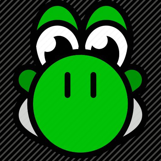 fun, games, play, yoshi icon