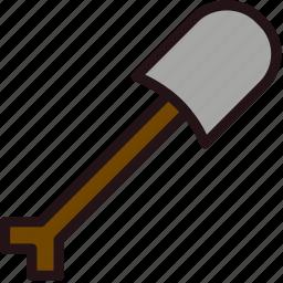 fun, games, minecraft, play, shovel icon