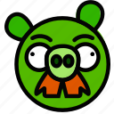 fun, games, pigstache, play icon