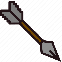 arrow, fun, games, minecraft, play icon